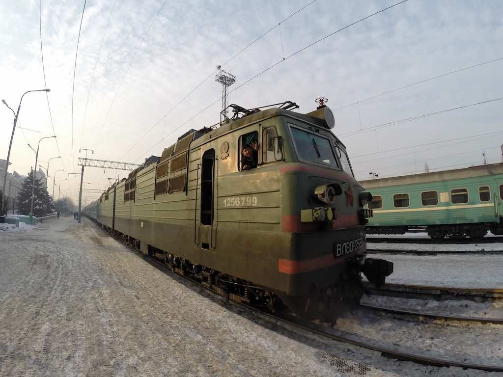 Almaty, Kazakhstan - Almaty 2 Train