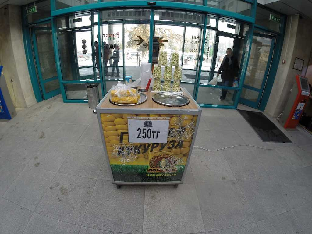 Almaty, Kazakhstan - Boiled Corn
