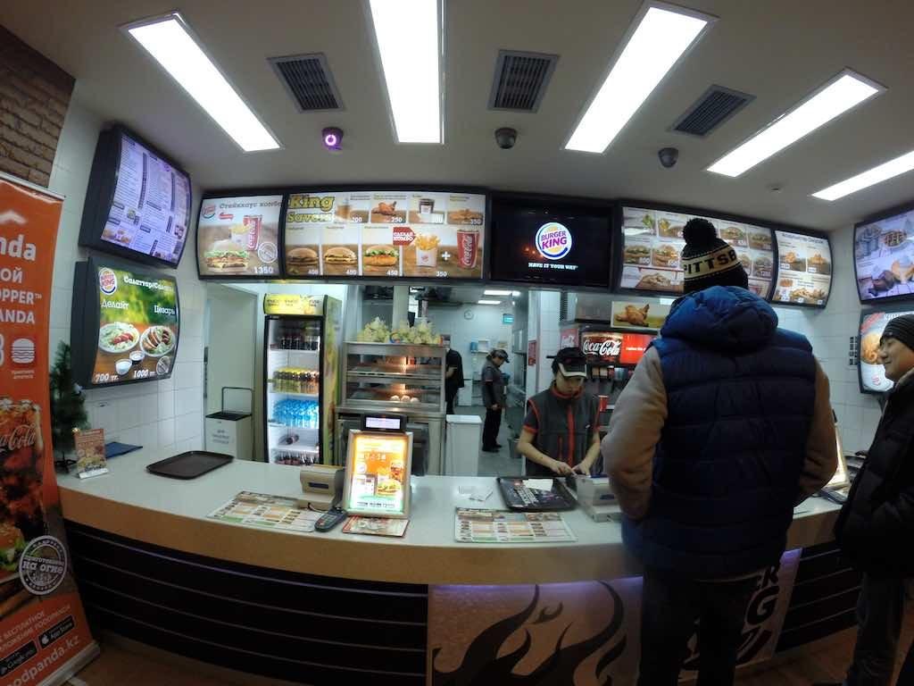 Almaty, Kazakhstan - Burger King