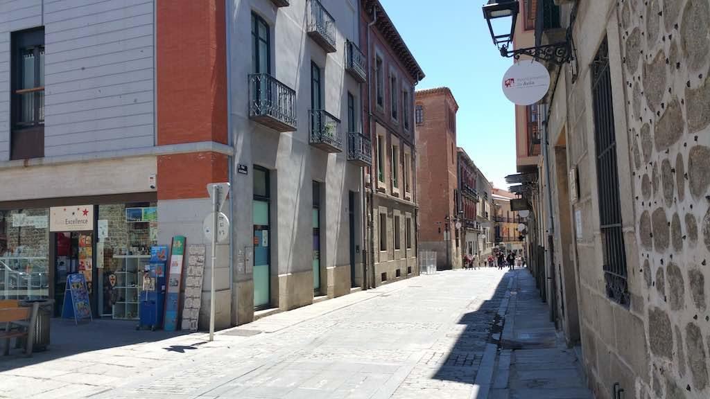 Avila, Spain - street