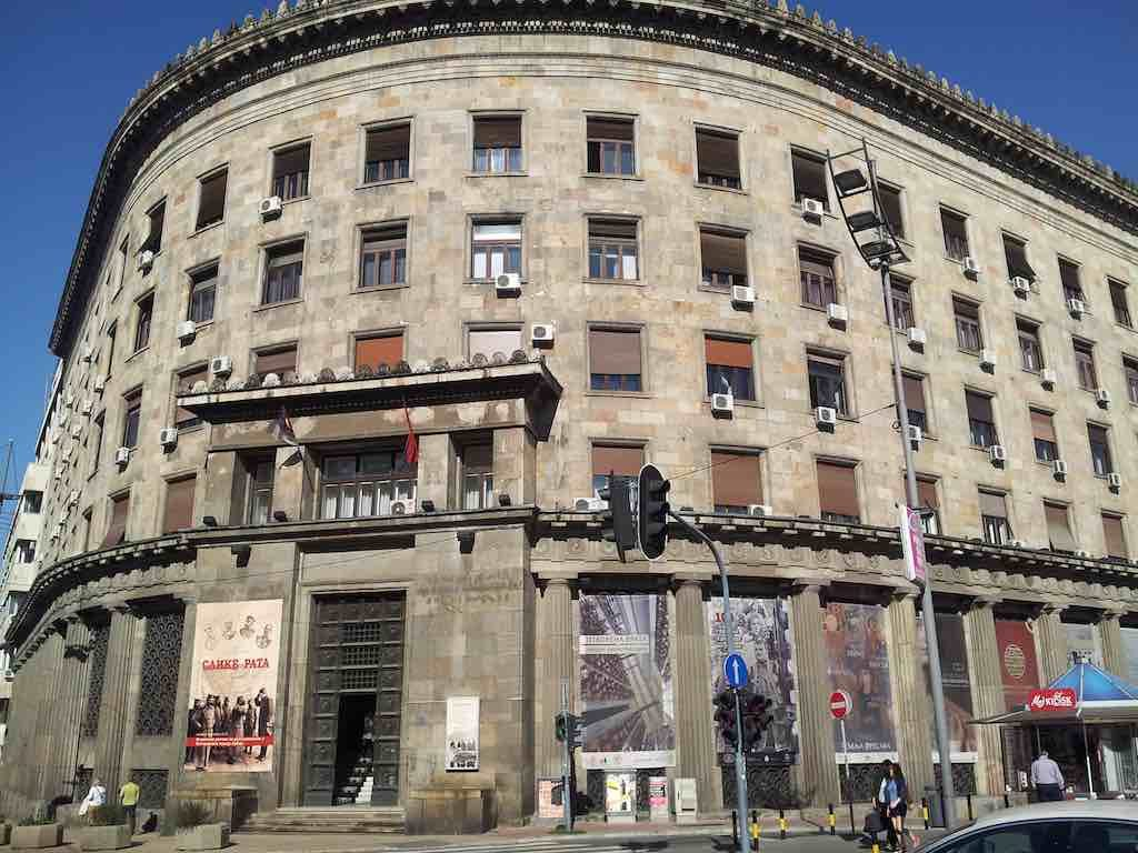 Belgrade, Serbia - Old Buildings