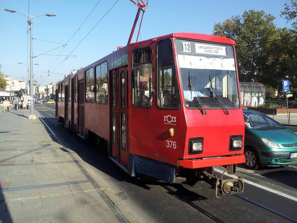 Belgrade, Serbia - Old Tram