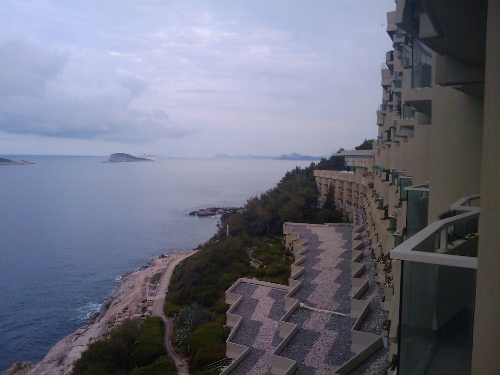 Cavtat, Croatia - hotel view