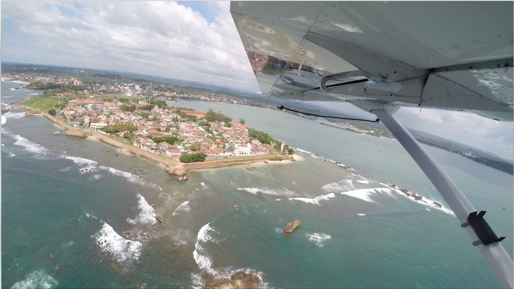 Galle Fort, Sri Lanka - Seen from a Cinnamon Air flight