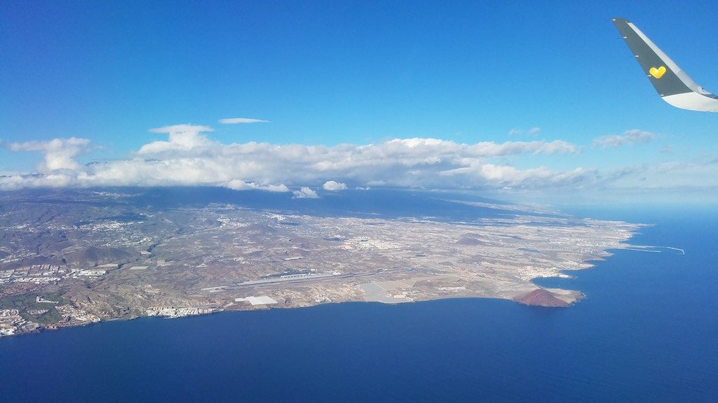 Gulf de Sur, Tenerife, Canary Islands, Spain - Tenerife South Airport (TFS)