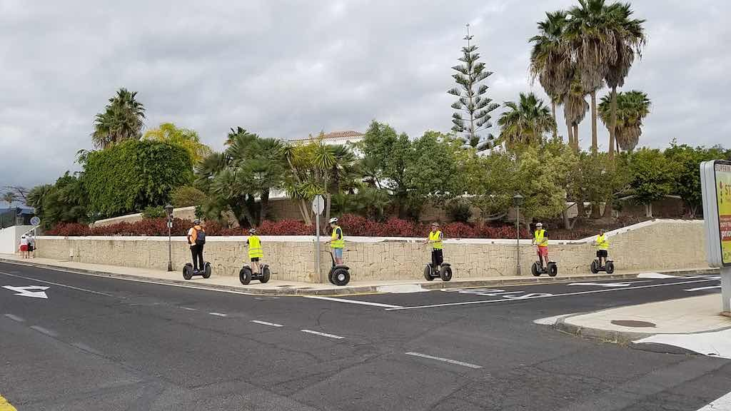 Gulf del Sur Tenerife, Canary Islands, Spain - Segway Tours