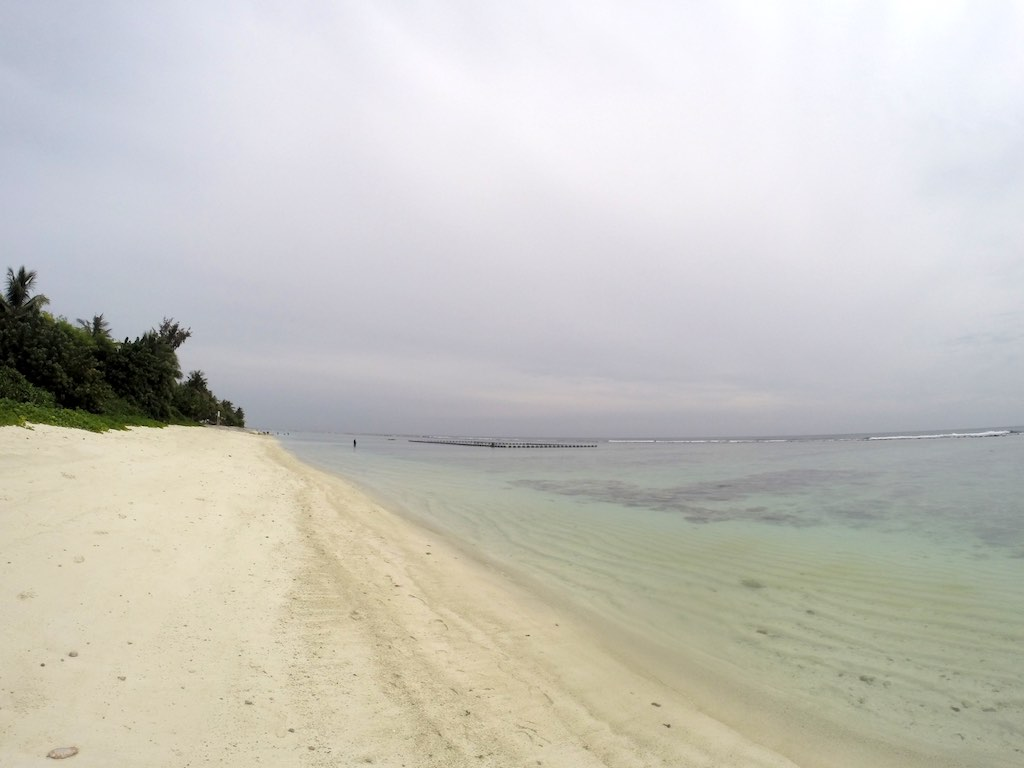 Malé, Maldives - Hulhumalé Beach