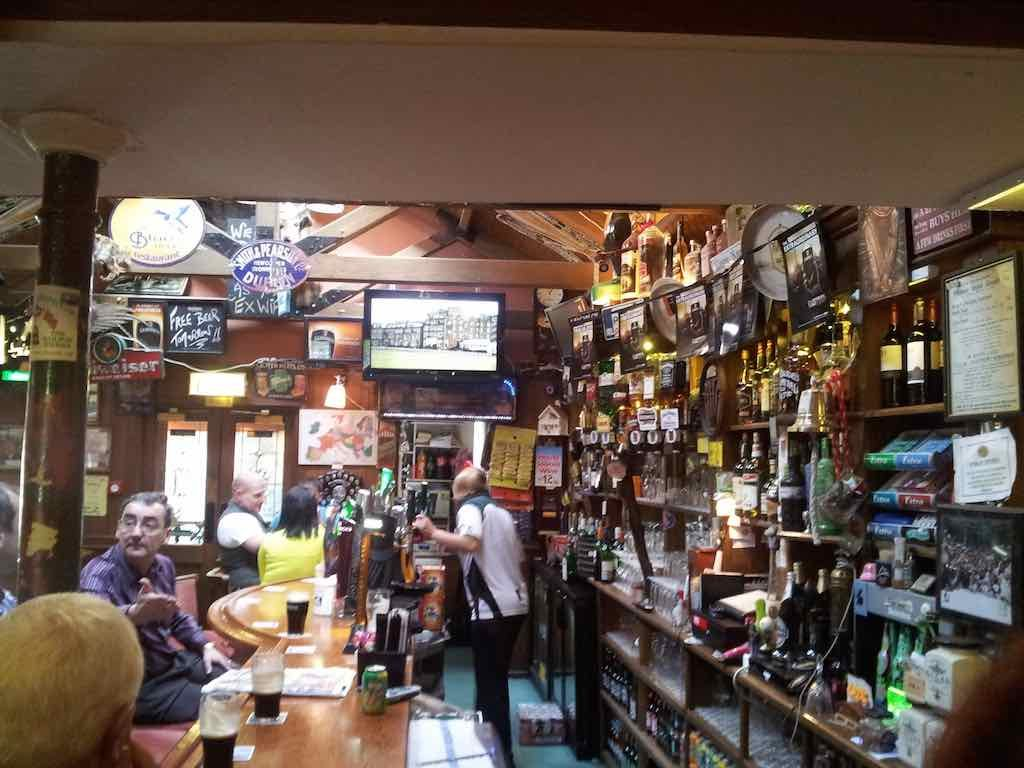 Drogheda, Ireland - Inside The Railway Tavern