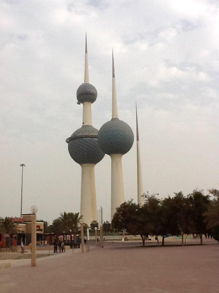 Kuwait City, Kuwait - Kuwait Towers