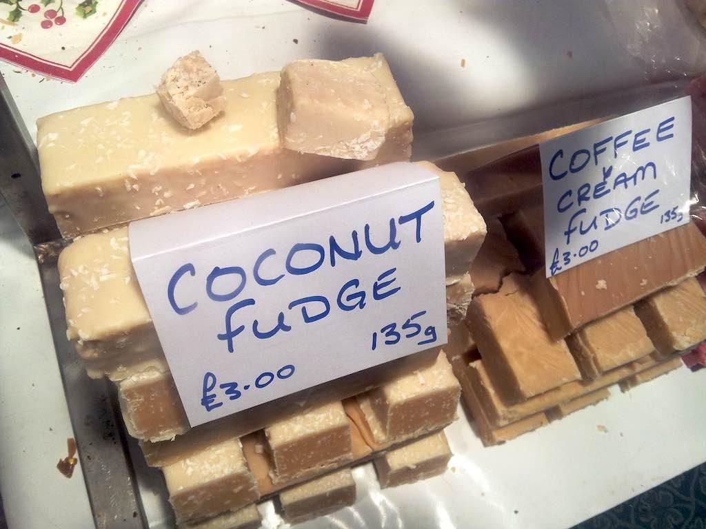 Lincoln, Lincolnshire, United Kingdom - Coconut Fudge