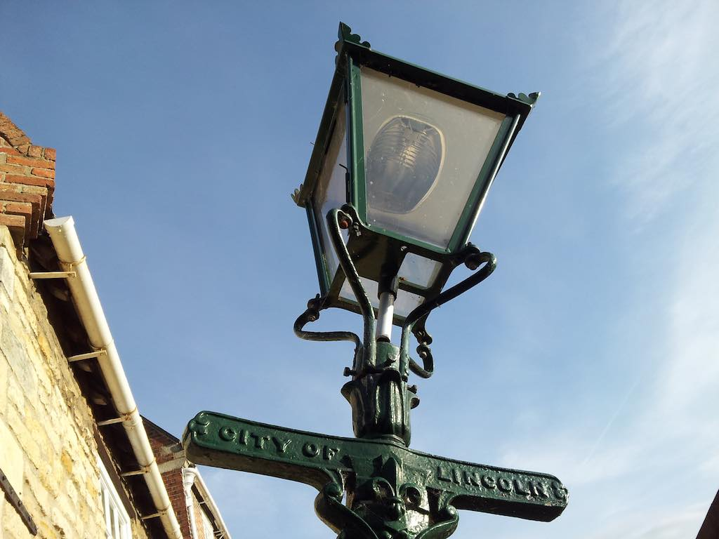 Lincoln, Lincolnshire, United Kingdom - Gas Lamp