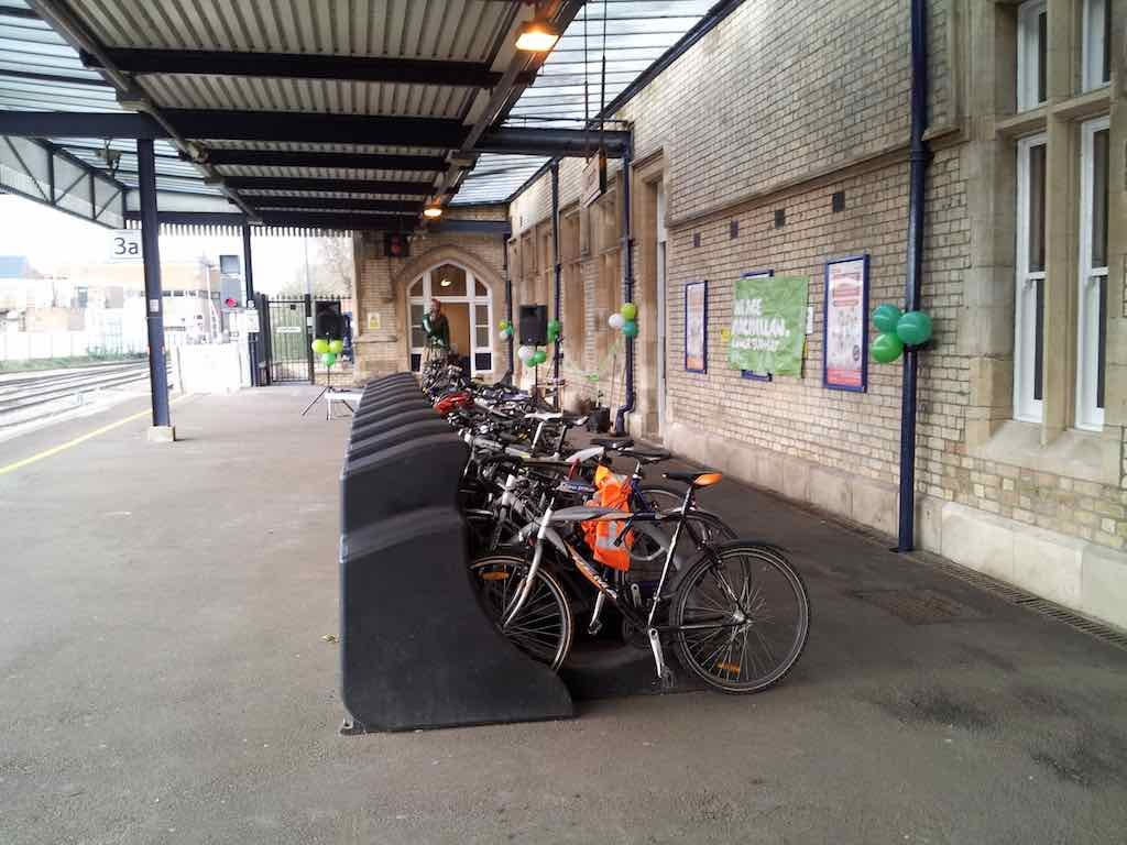 Lincoln, Linconshire, United Kingdom - Train Station