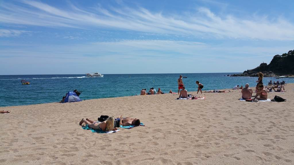Lloret de mar, Spain - Beach