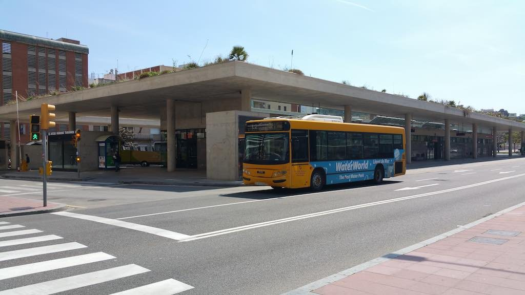 Lloret de mar, Spain - Bus Terminal