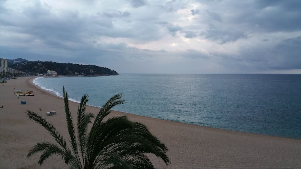 Lloret de mar, Spain - The Beach Front