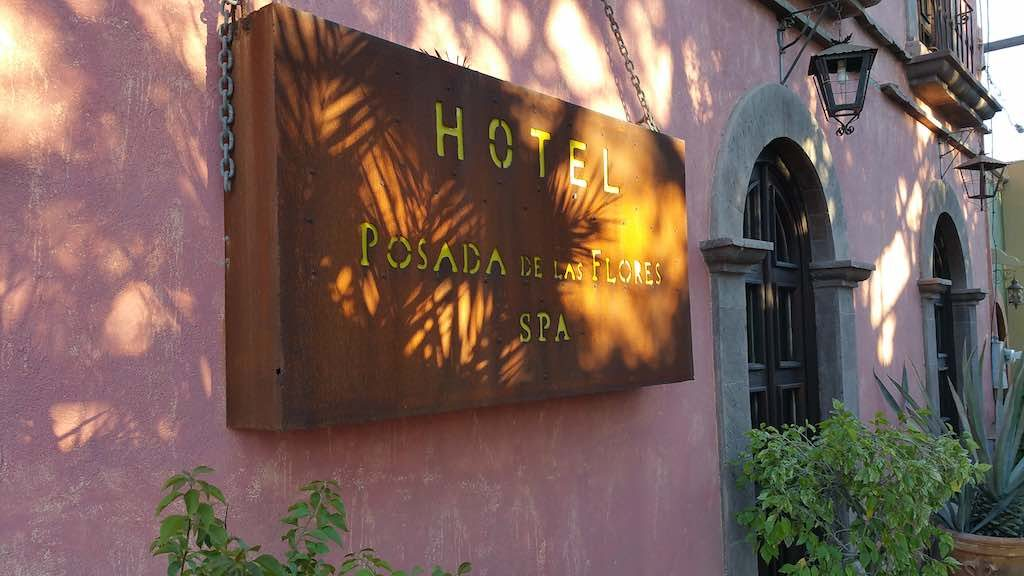 Loreto, Mexico - Hotel Posada del las Flores SPA