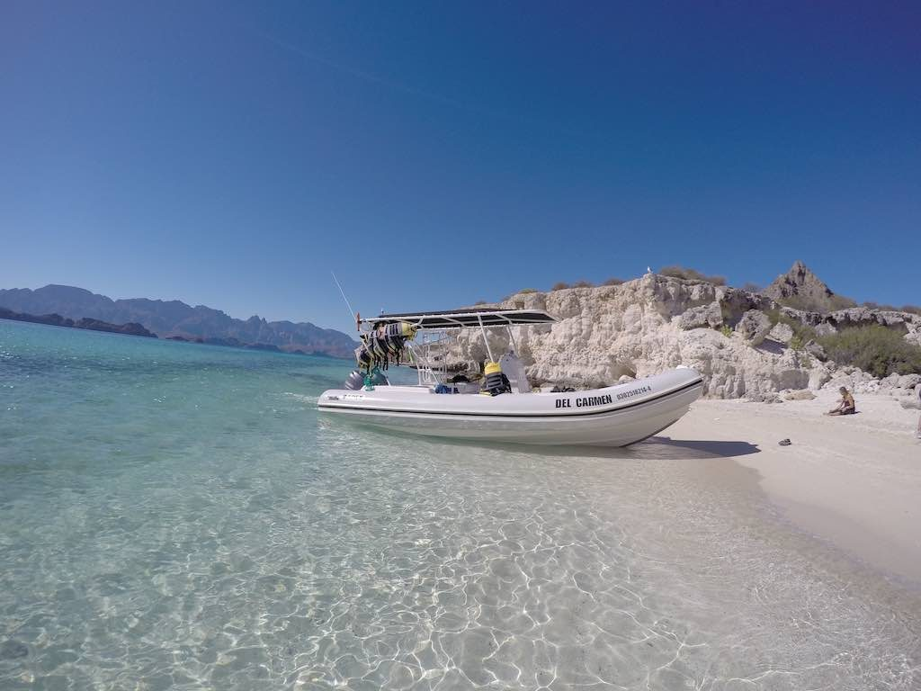 Loreto, Mexico - Isla Carmen Beach