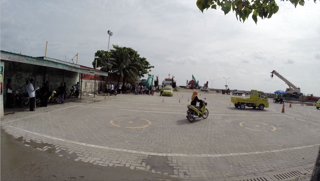 Malé, Maldives - Driving Test
