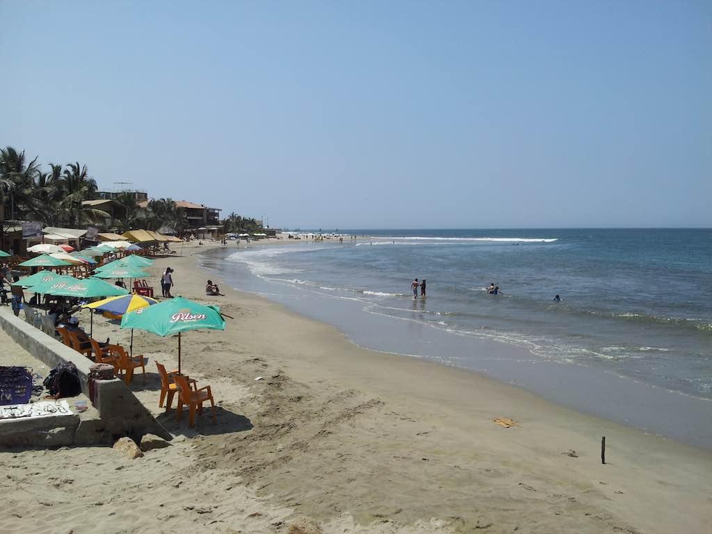 Mancora, Peru - Beach