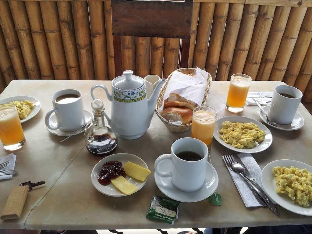 Mancora, Peru - Breakfast