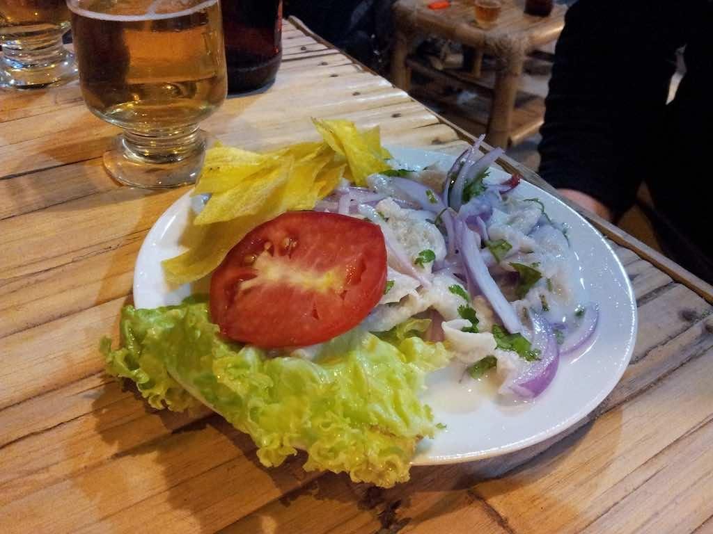 Mancora, Peru - Food