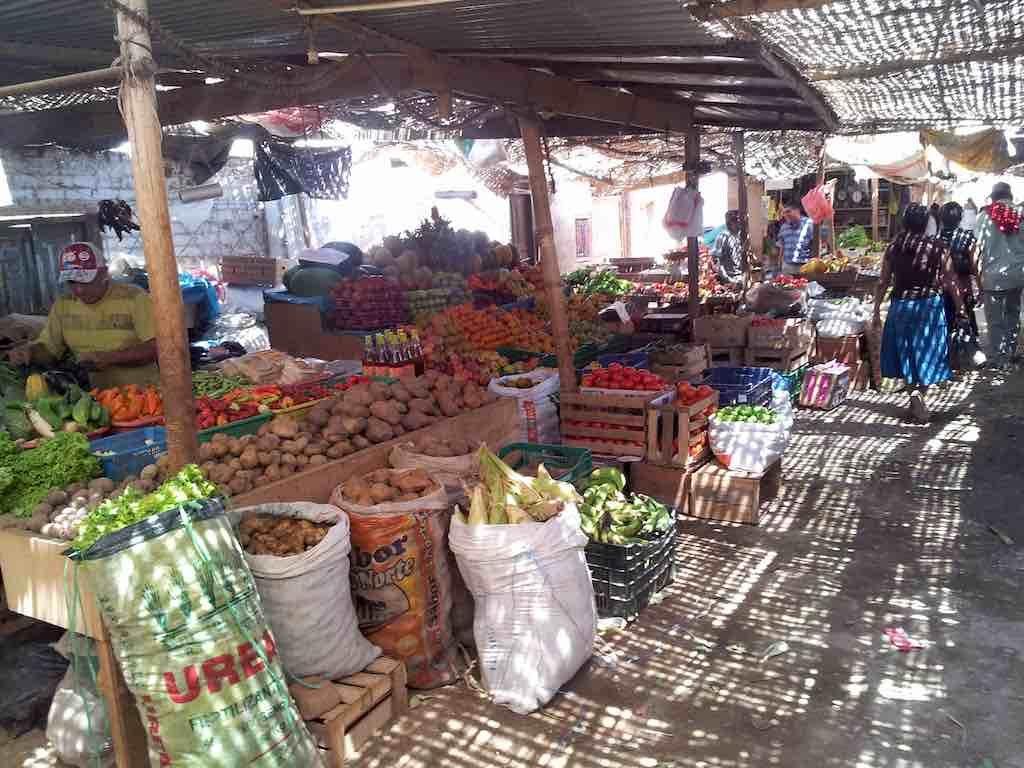 Mancora, Peru - Market