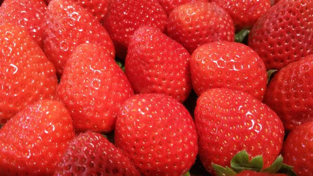 Molins de Rei, Spain - Strawberries