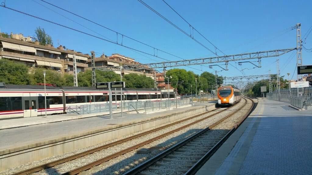 Molins de Rei, Spain - Train