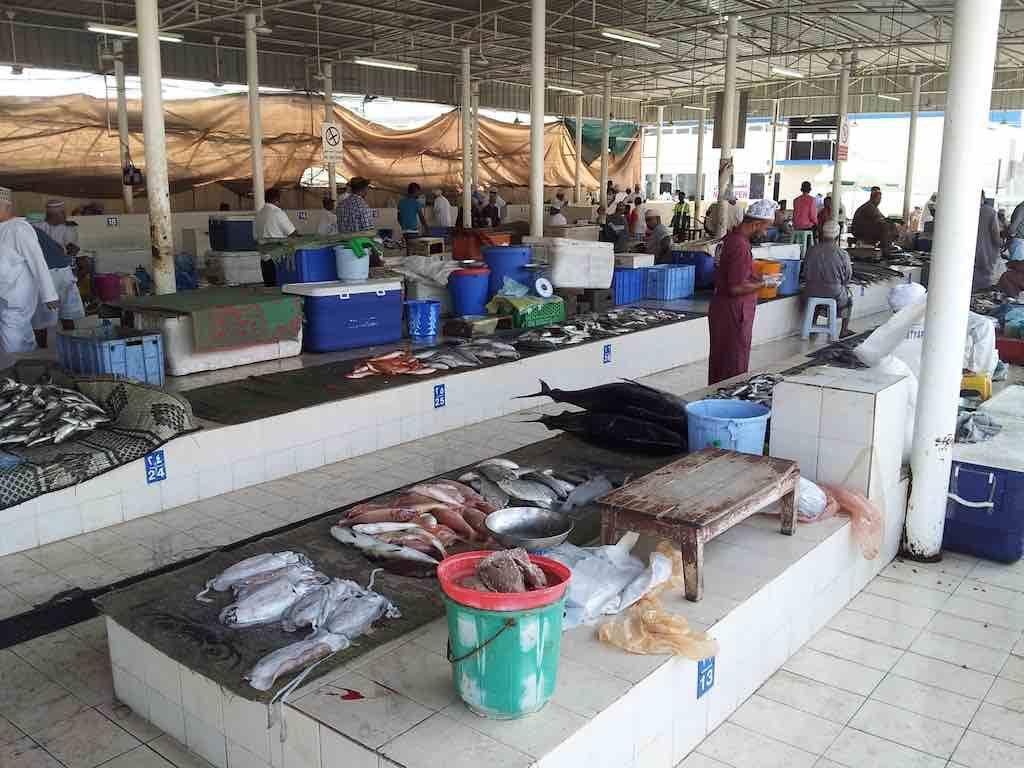 Muscat, Oman - Fish Market