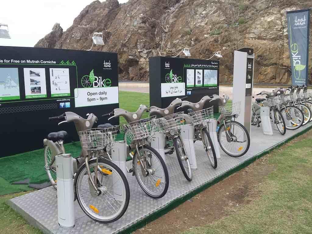 Muscat, Oman - Bike rental