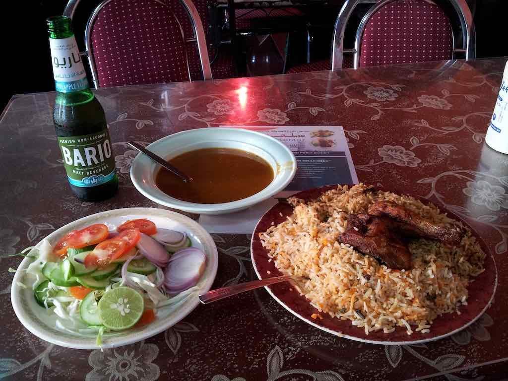 Muscat, Oman - Food in Seeb