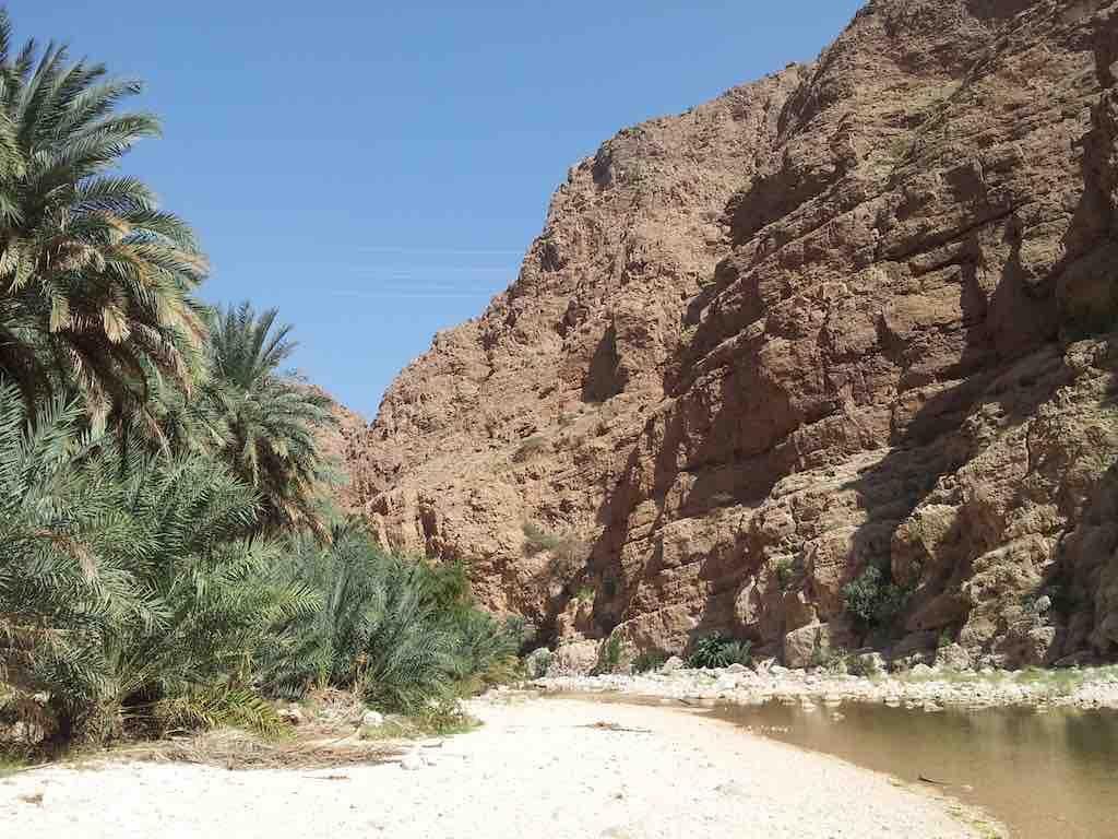 Muscat, Oman - Wadi Shab
