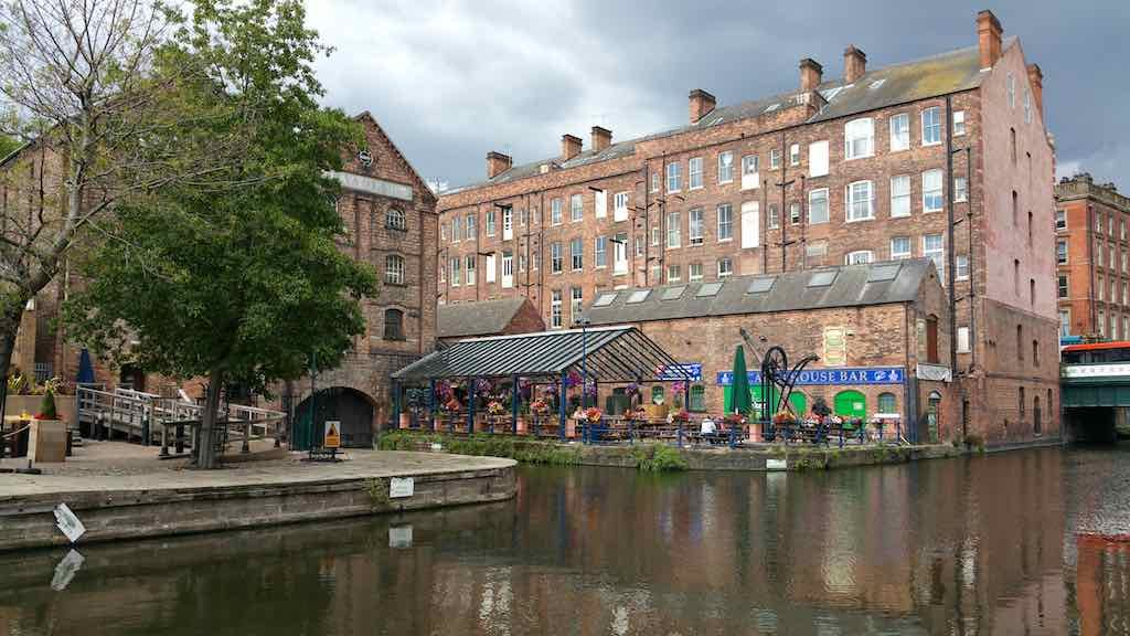 Nottingham, United Kingdom - Canal House