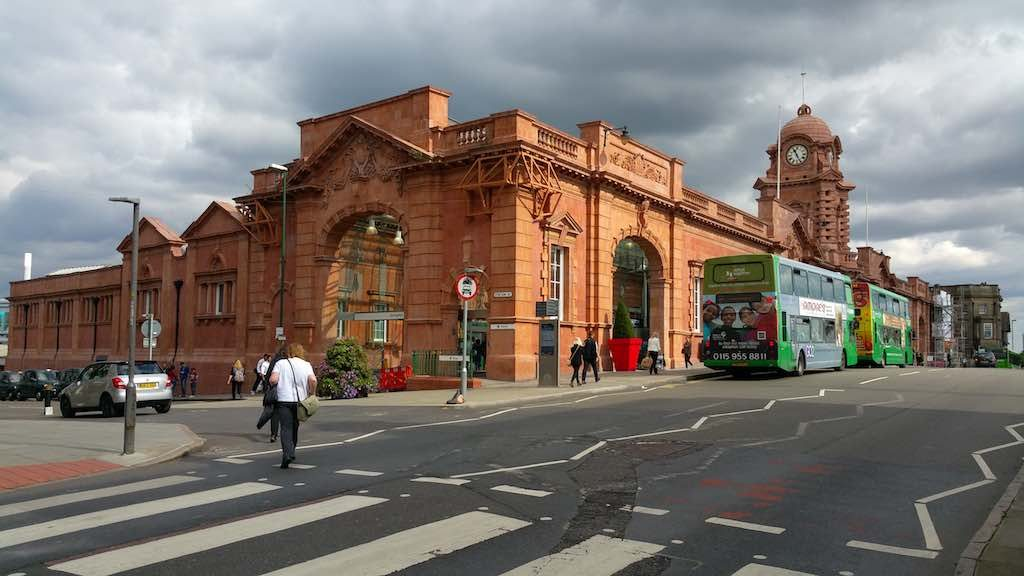 Nottingham, United Kingdom - Nottingham Train Station