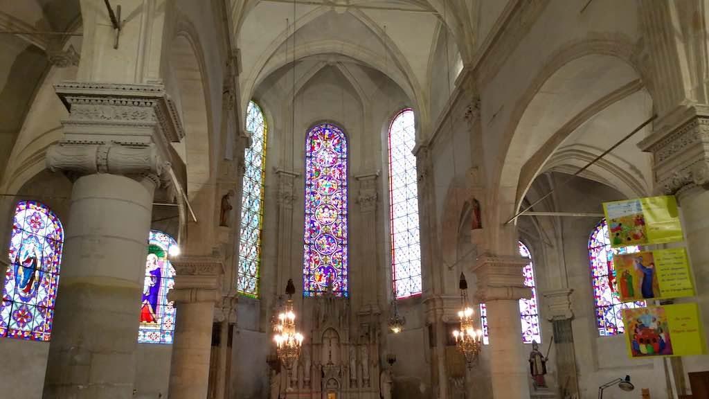 Roissy-en-France - Saint Eloi Church stained glass windows