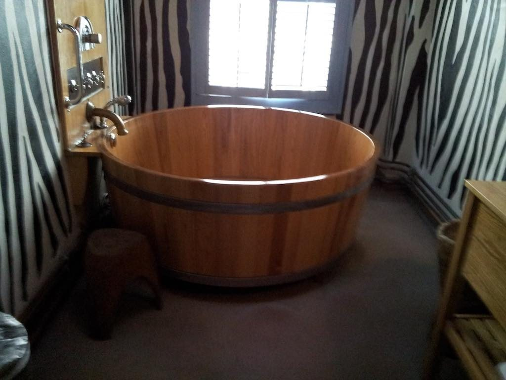Rotterdam, Netherlands - Bathtub at the Hotel Bazaar