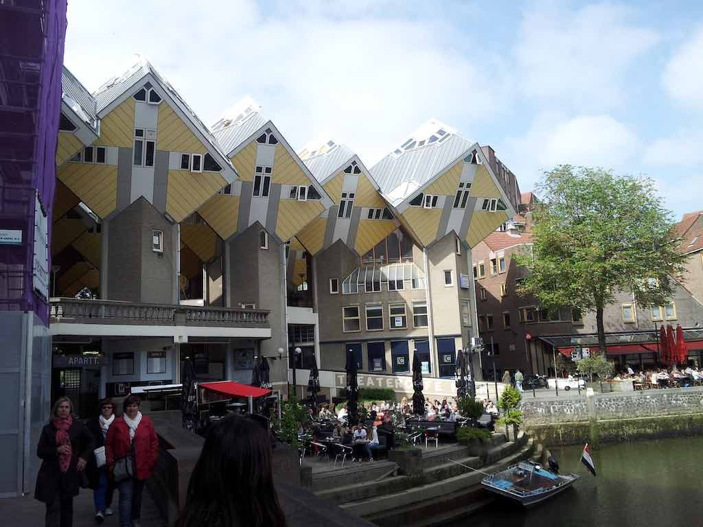 Rotterdam, Netherlands - Cube Houses