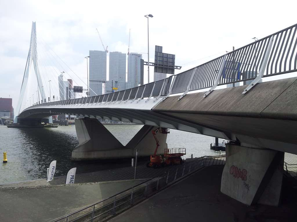 Rotterdam, Netherlands - Erasmus Bridge