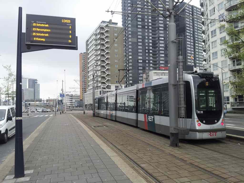 Rotterdam, Netherlands - Trams