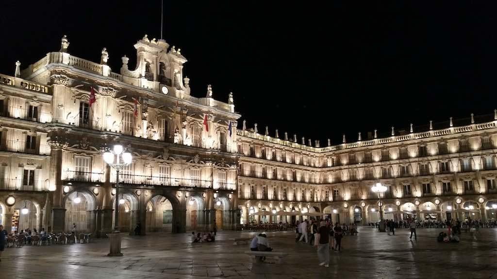 Salamanca, Castilla y Leon - Plaza Mayor