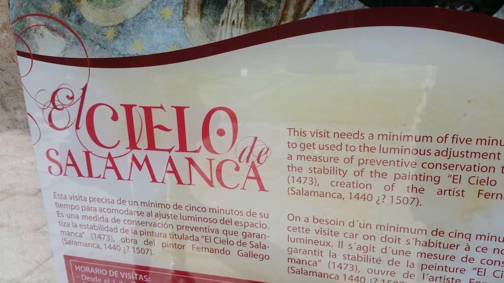 Salamanca, Castilla y Leon, Spain - University of Salamanca El Cielo de Salamanca