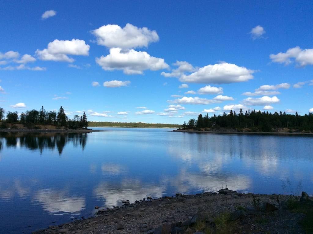Saxnas, Sweden - Lake