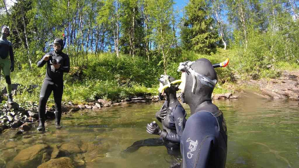 Saxnas, Sweden - Mountain Snorkeling