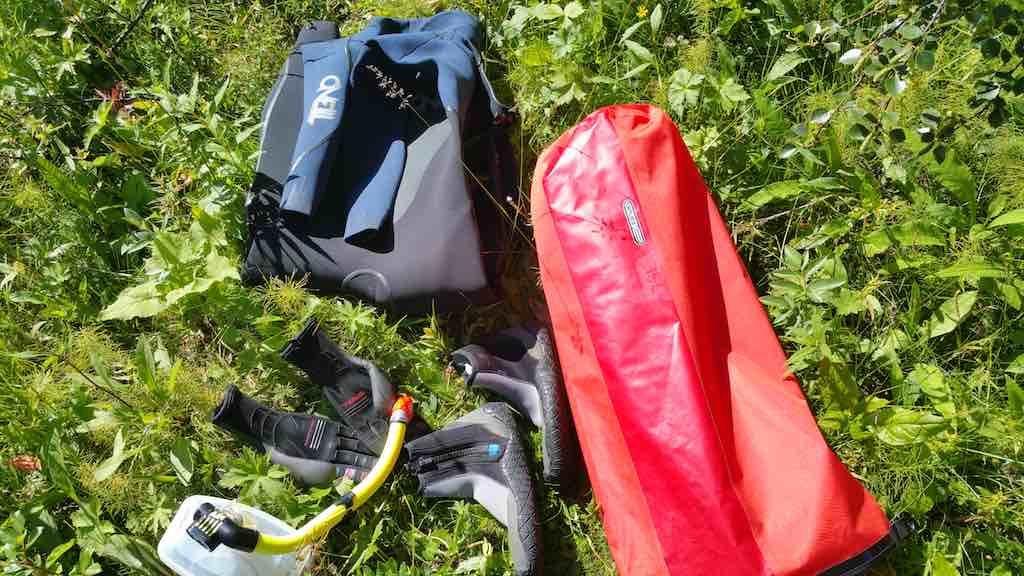 Saxnas, Sweden - Mountain Snorkeling Gear