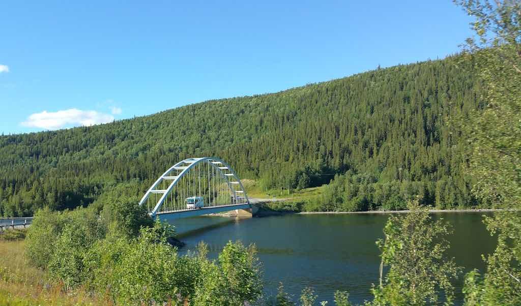 Saxnas, Sweden - Saxnas Bridge
