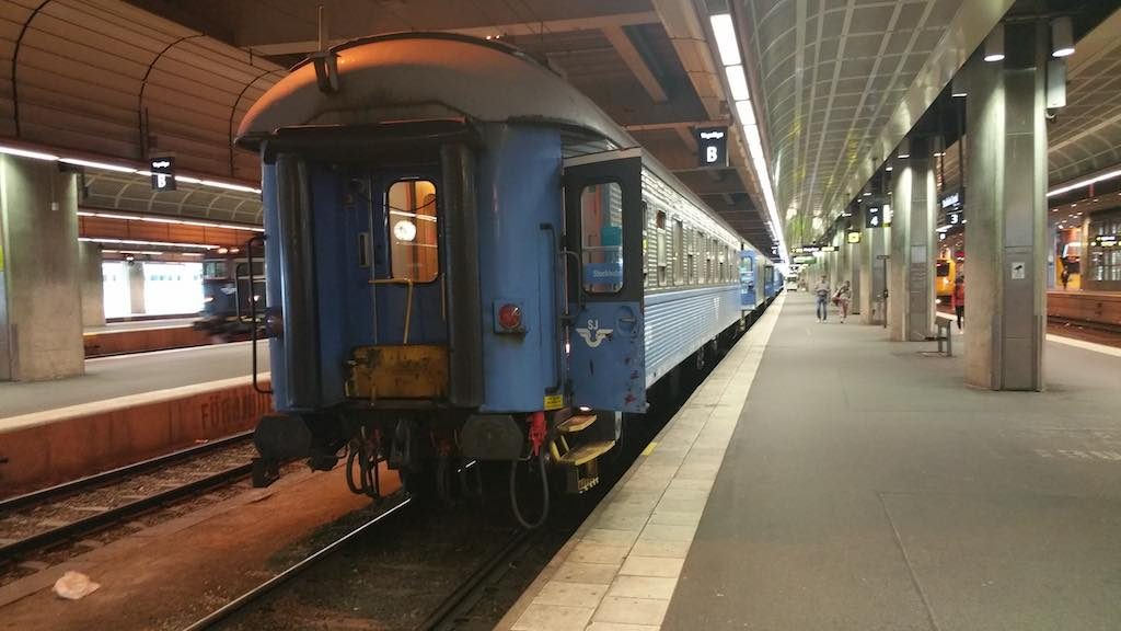 Saxnas, Sweden - Swedish Rail in Stockholm