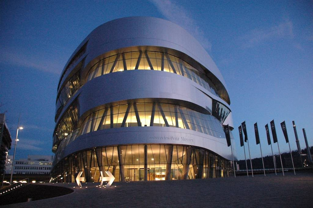 Stuttgart, Germany - Mercedes Museum
