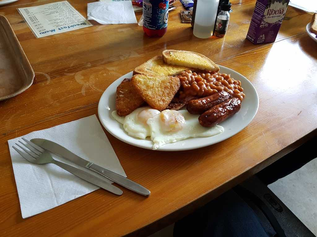 Tenby, Pembrokeshire, Wales, United Kingdom English - Breakfast
