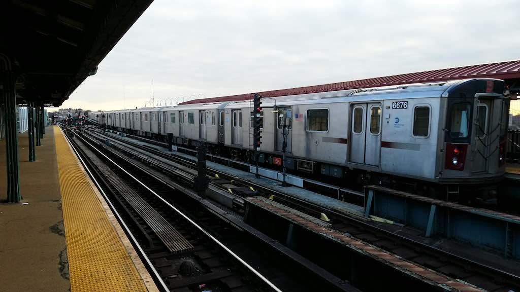The Bronx, New York - Nereid Avenue Number 2 Train