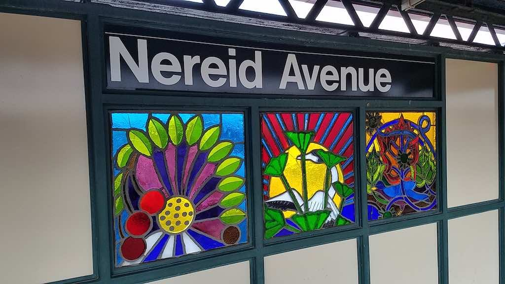The Bronx, New York - Nereid Avenue Stained Glass Windows
